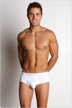 2xist Essential Contour Pouch Brief White