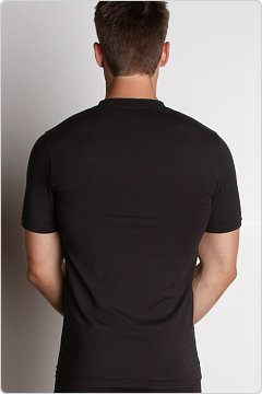 2xist Metal V-Neck Shirt Black