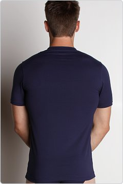 2xist Metal V-Neck Shirt Navy