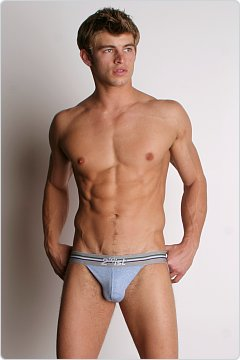 2xist Retro Jock Strap Cloud Blue