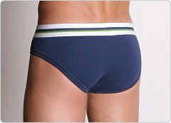 2xist Track No-Show Brief Navy