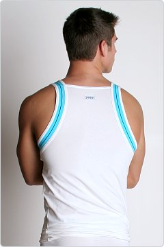 2xist Track Square Cut Tank White