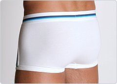 2xist Track Square Cut Trunk White