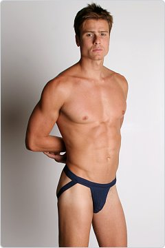 ActiveMan Swimmer Jockstrap Navy
