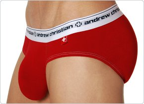 Andrew Christian Almost Naked Brief Red