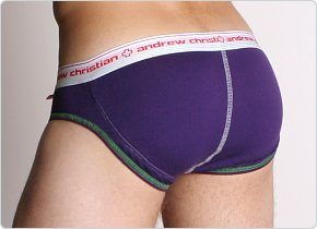 Andrew Christian Flashback Brief Purple