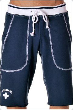 Andrew Christian Lifeguard Training Shorts Navy