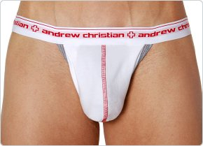 Andrew Christian Show-It Jockstrap White