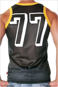 Andrew Christian Sports Mesh Team Tank Black