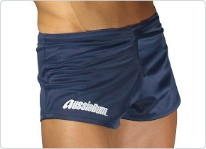 aussieBum Footy Short Navy Blue