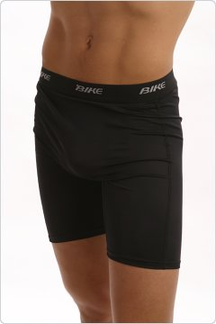 Bike Black Ultimate Compression Shorts