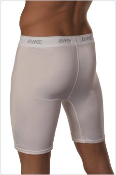 Bike White Ultimate Compression Shorts