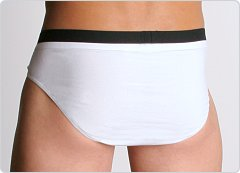 BOSS Hugo Boss Athletic II Hip Brief White