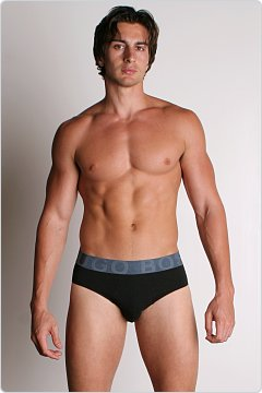 BOSS Hugo Boss Steel Brief Black