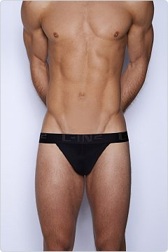 C-IN2 Core Y-Back Thong Black