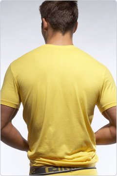 C-IN2 Crew Neck Shirt Lemon
