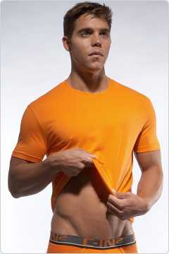 C-IN2 Crew Neck Shirt Vibrant Orange