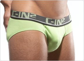 C-IN2 Low No Show Brief Jade Lime