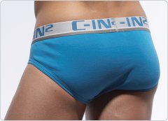 C-IN2 Low No Show Brief Marine Blue