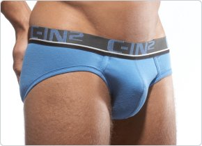 C-IN2 Low No Show Brief Regatta Blue