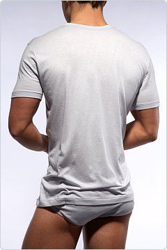 C-IN2 Prime Vee Neck Shirt White