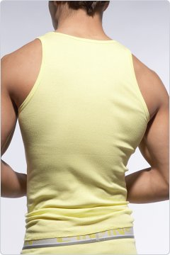 C-IN2 Square Neck Tank Top Limelight