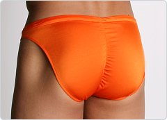 California Muscle Colt Swim Briefs Orange