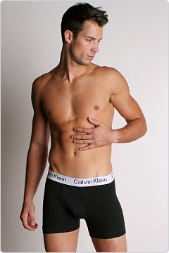 Calvin Klein Body Stretch Boxer Brief Black