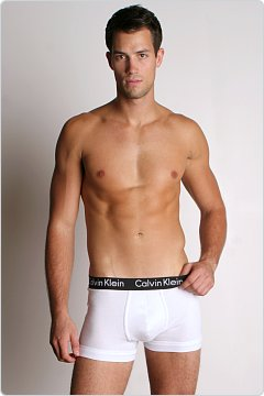 Calvin Klein Body Stretch Trunk White