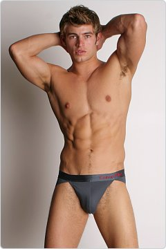 Calvin Klein Pro Stretch Reflex Retro Sport Brief Eclipse
