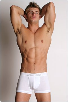 Calvin Klein Rear Boosting Trunk White