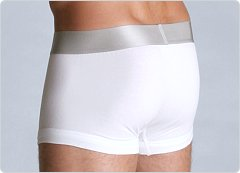 Calvin Klein Steel Cotton Gripper Trunk