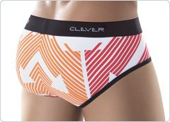 Clever Multi Arrows Brief White