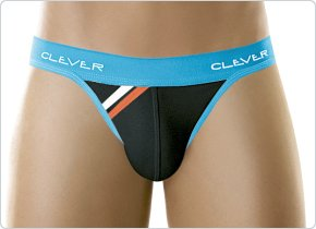 Clever Sporty Thong Black