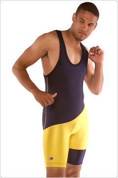 Cliff Keen Body Panel Lycra Wrestling Singlet
