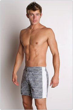Diesel County Spikes Swim Boxer Black