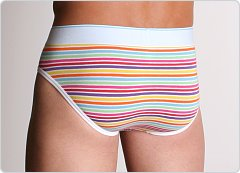 Diesel Lukex Brief Rainbow Stripes