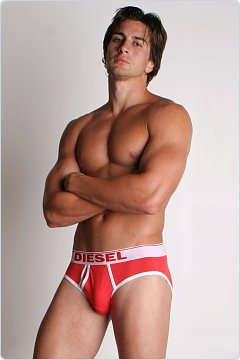 Diesel Lukex Brief Red