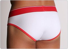 Diesel Lukex Color Trim Brief Red