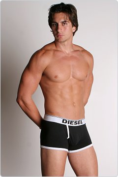 Diesel New Breddox Boxer Black