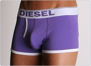 Diesel New Breddox Boxer Purple