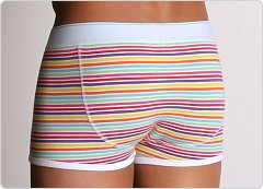 Diesel New Breddox Boxer Rainbow Stripes