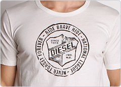 Diesel Volley League Frisby Shirt Cream