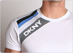 DKNY Drive Crew Neck Shirt White