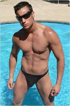 Ergowear X3D Swim Thong Black