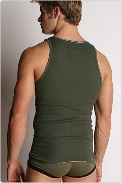 Go Softwear Boot Camp Tank Top Army