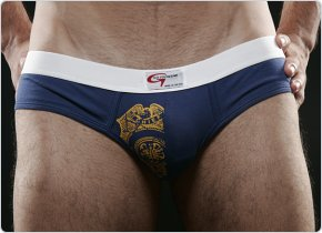Go Softwear Fire Dept. Insignia Low-Rise Brief
