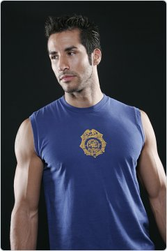 Go Softwear Fire Dept. Insignia Muscle Shirt