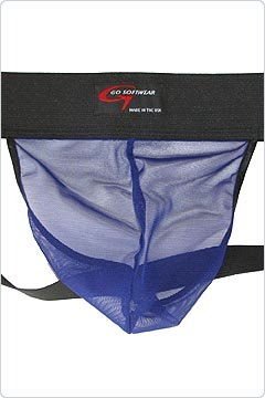Go Softwear Royal Blue Mesh Jock