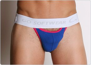Go Softwear Scoop Jock Blueberry/Raspberry